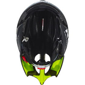 Rudy Project Wing57 Casco, black-yellow fluo matte